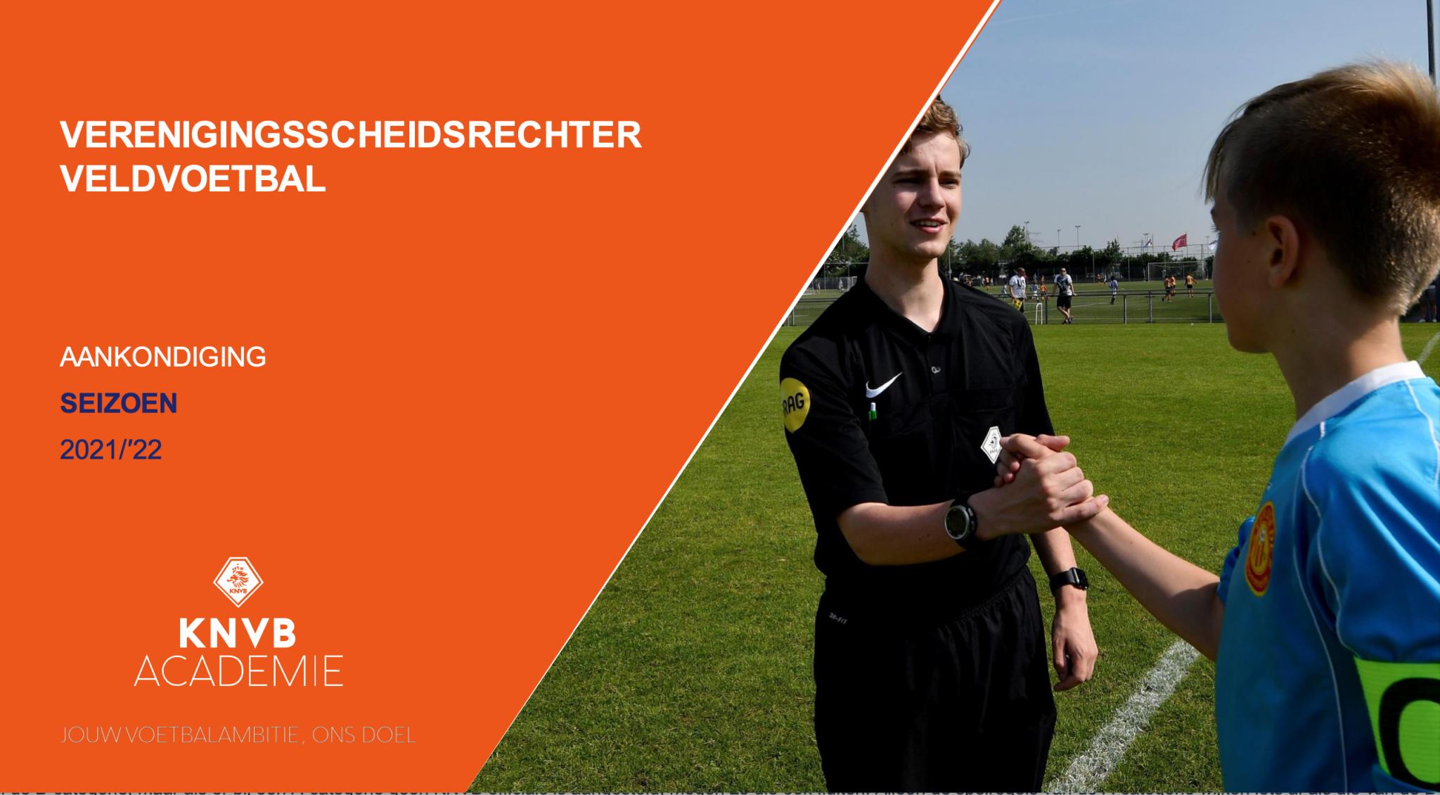 Meld je aan voor de interne KNVB cursus Verenigingscheidsrechter bij Zinkwegse Boys